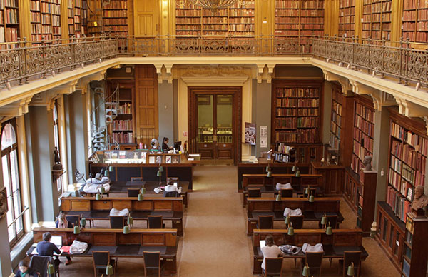 Quiet places to study in London
