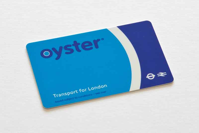 getting around London with an Oyster card
