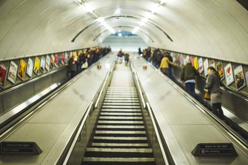Getting around London tube