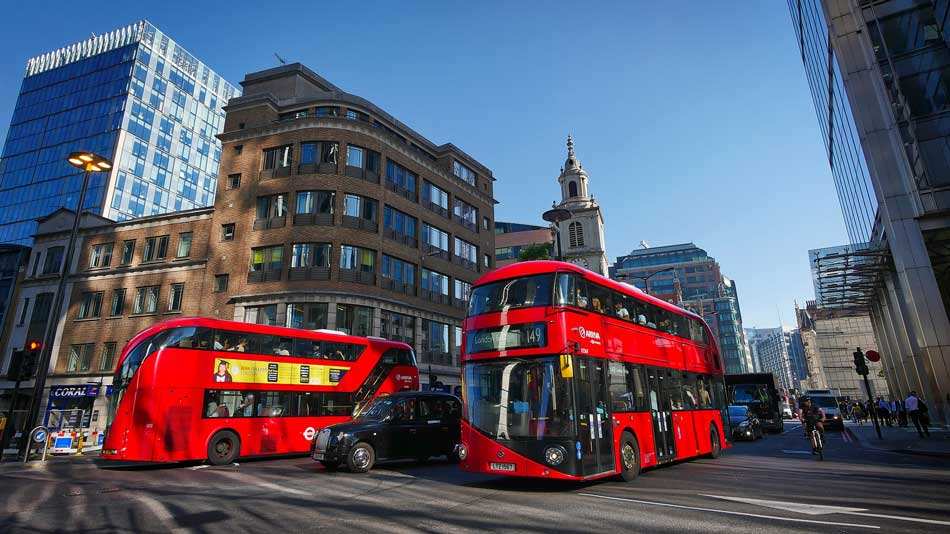 Getting around London guide