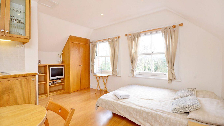 London studio flats