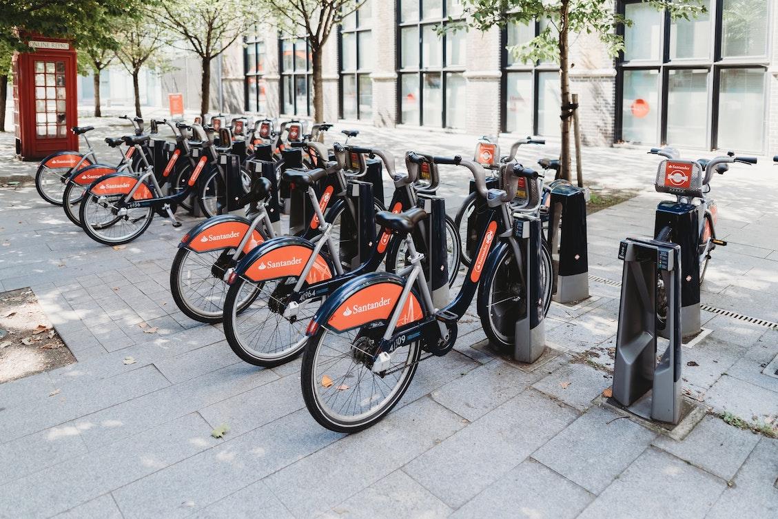 Transport Links in Bloomsbury - Santander Cycles